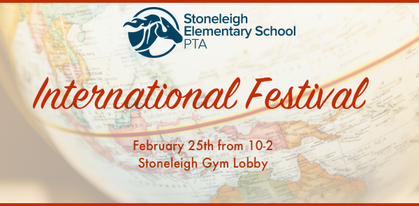 International Festival Schedule for the Day