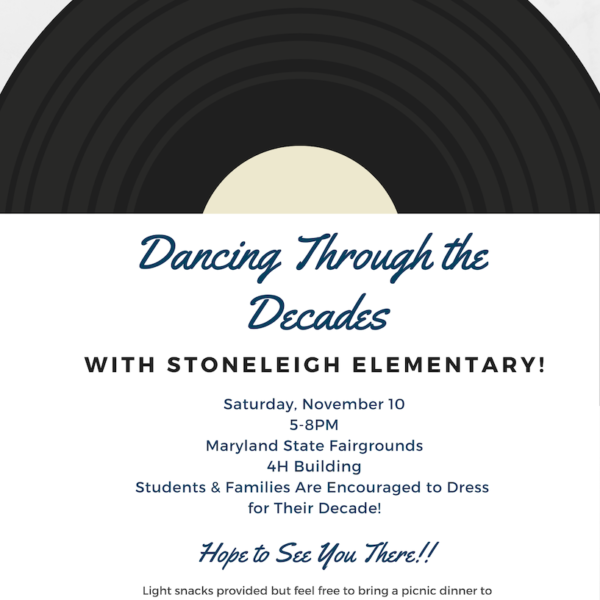 Stoneleigh All-School Dance, (11/9!)