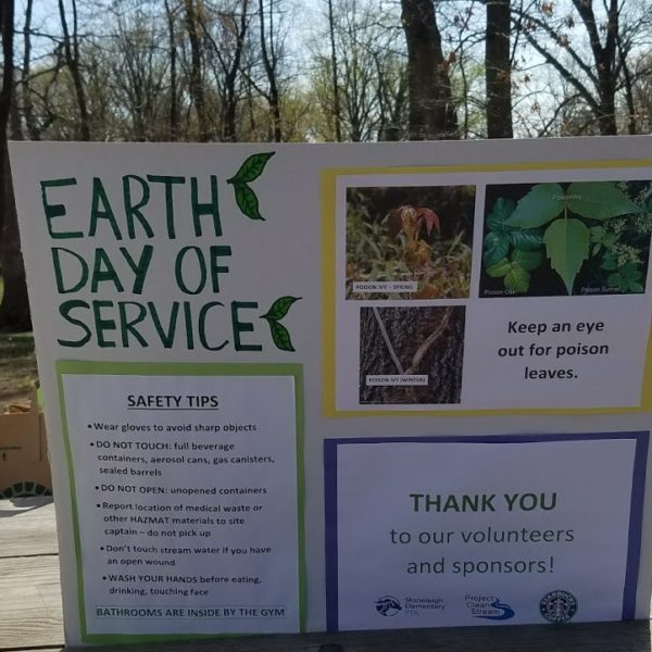 Stoneleigh Elementary's 2018 Earth Day Service Project a Huge Success!