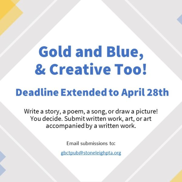 Blue and Gold & Creative Too Extended!